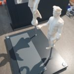 3D sculptures fully installed